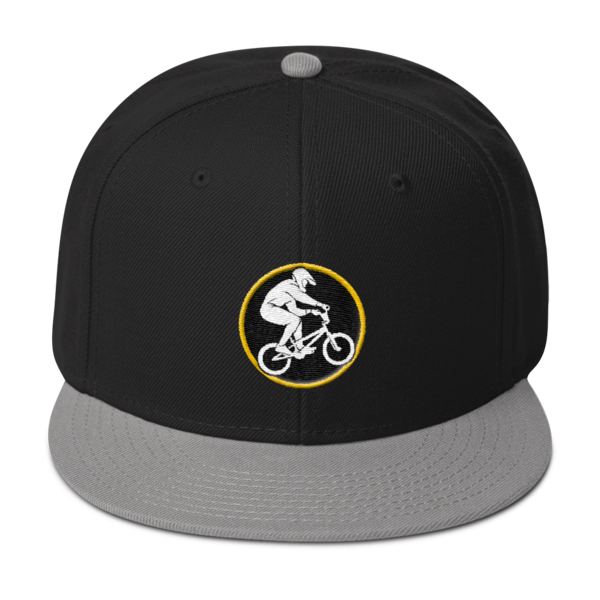 4cffd06b4dc Snapback Hat with WOB logo – World of BMX